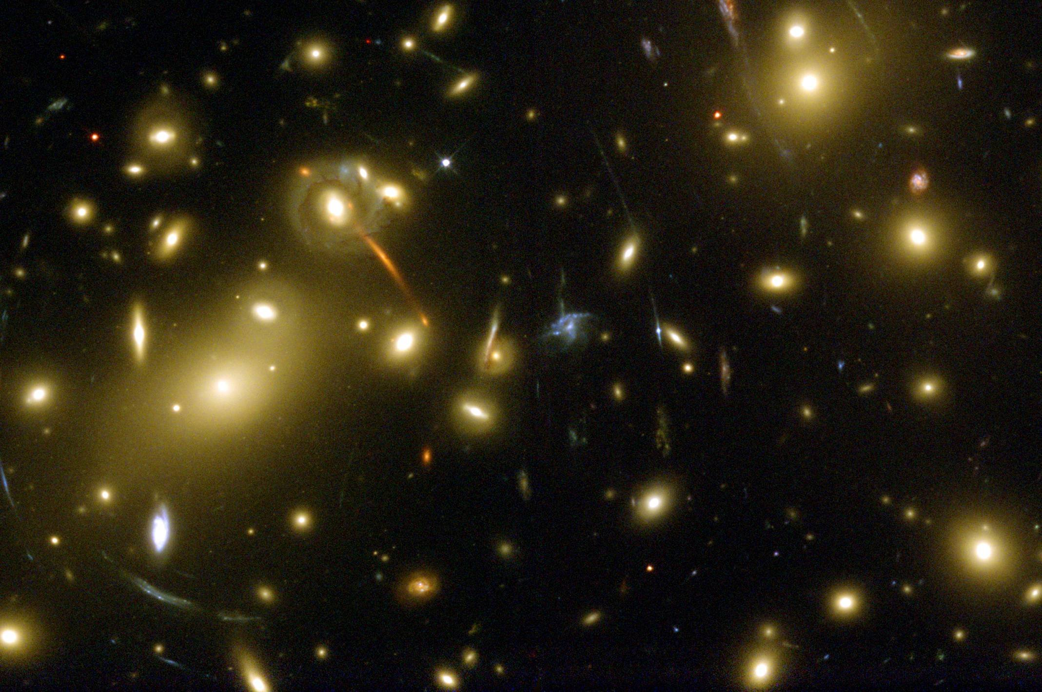 Abell 2218 - Galaxy Cluster
